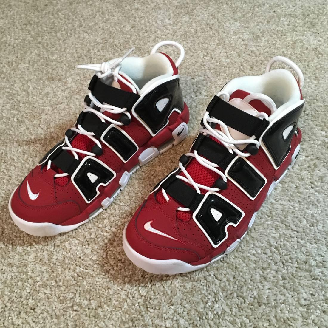 Nike USED Nike Uptempo Christmas Hoop Pack Size 8 - Hi-Top Sneakers ...