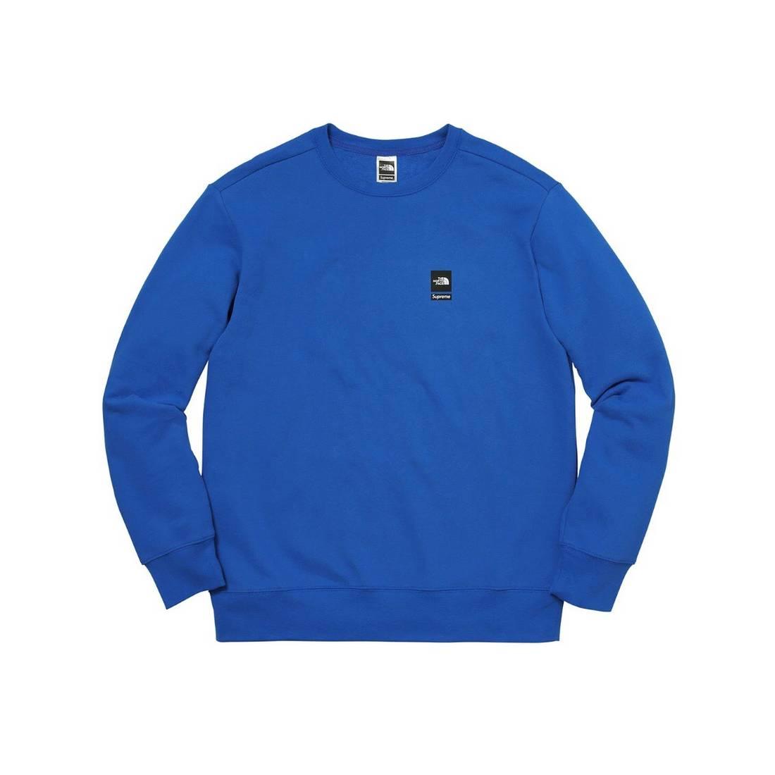 Supreme Supreme North Face Crewneck Blue Large L TNF Sweater ...