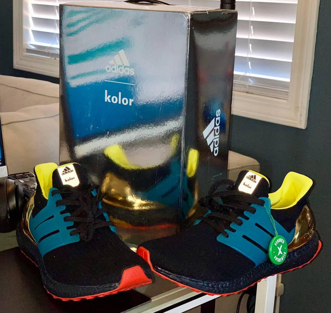 the latest ec969 ff8af ... free shipping adidas adidas ultra boost 3.0 kolor black style id ah1485  u.s. mens size 10.5