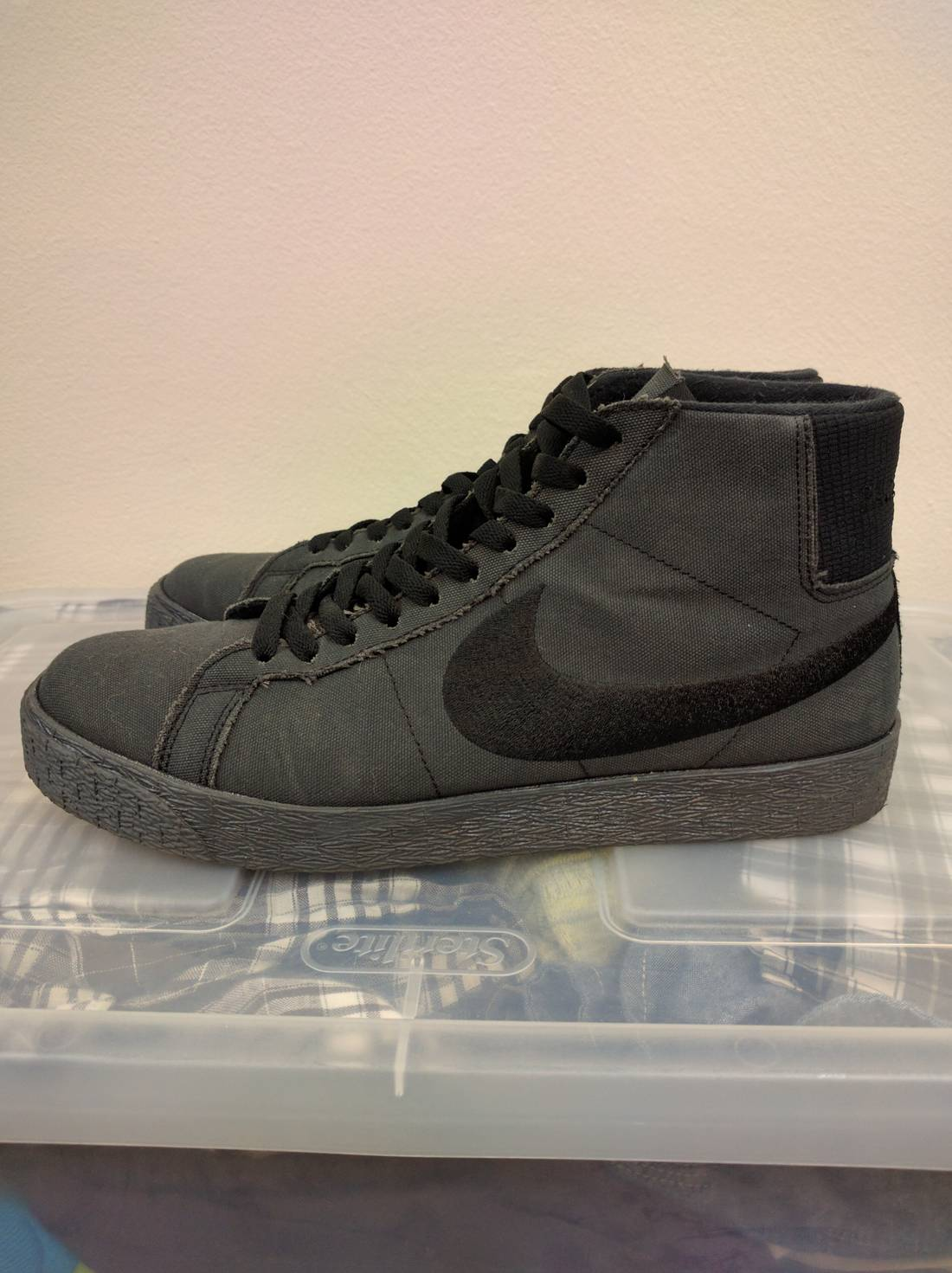 PASS ~ PORT and Nike SB Drop Murdered Out Blazer Hi
