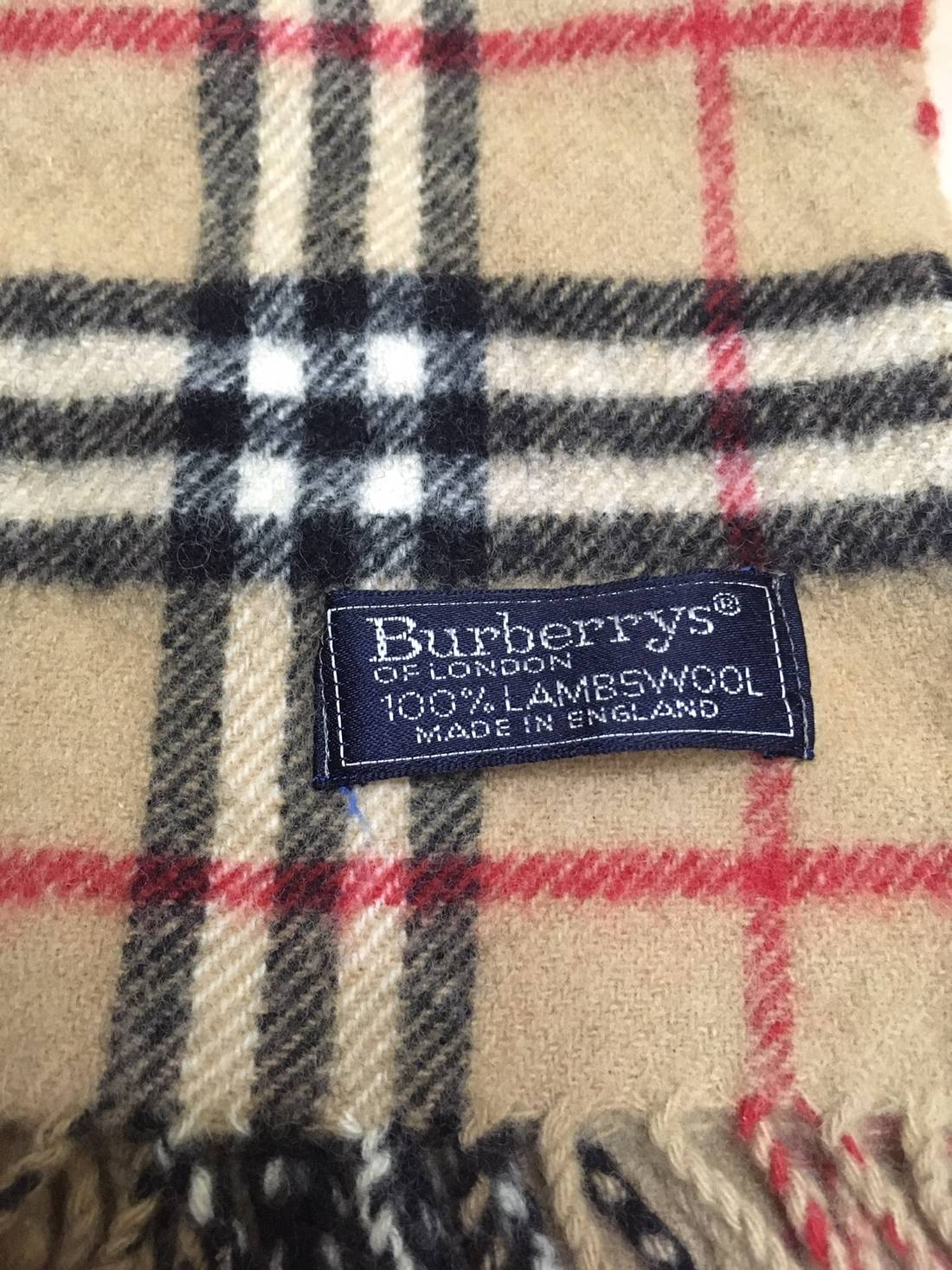 609c70d7f896 ... france vintage burberry scarf 100 lambswool made in england free  shipping with 44ebb aae4f