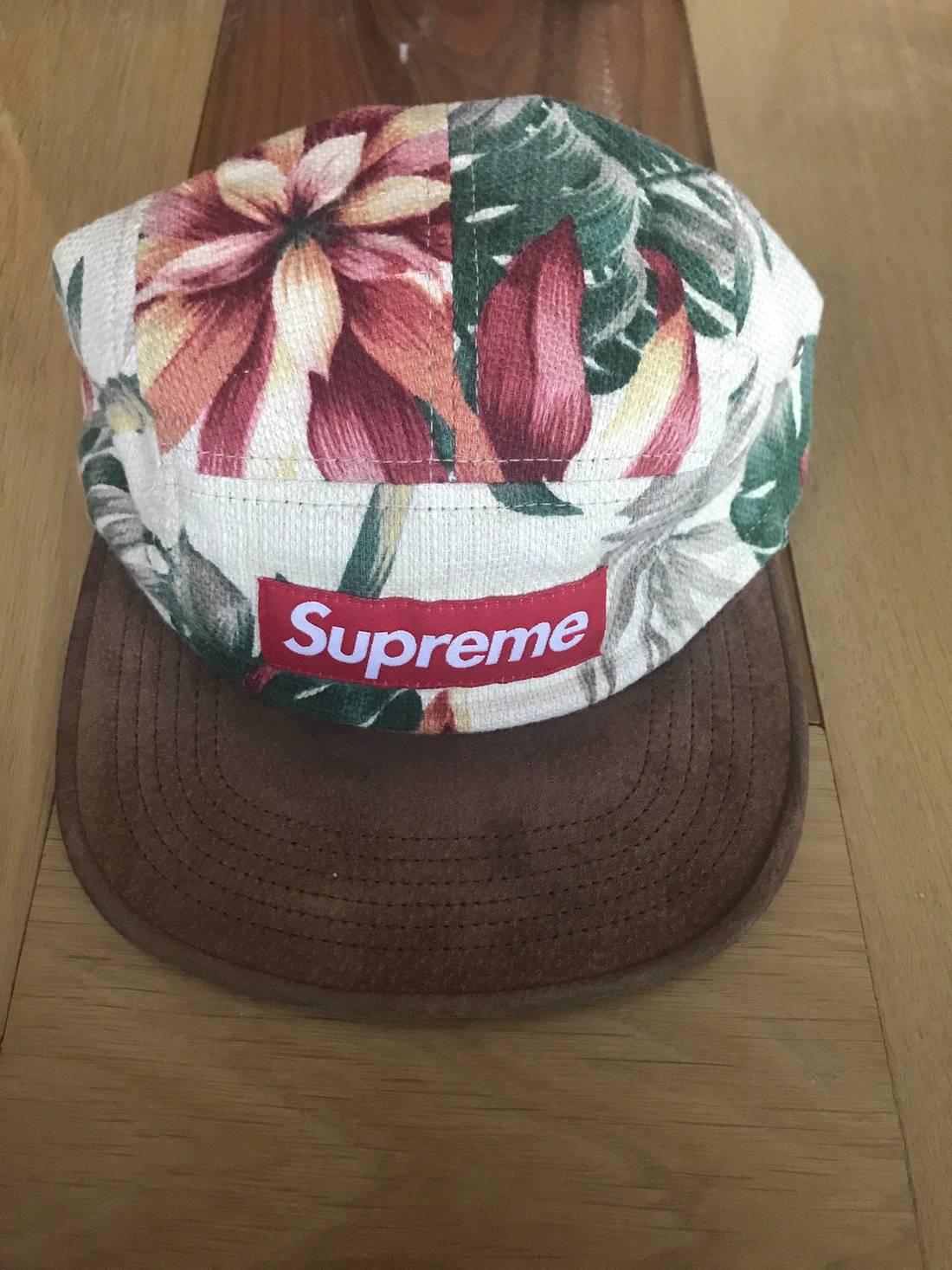 512bcd83a66 ... hot supreme supreme floral camp cap 2012 size one size 2 9e3e0 b6de8