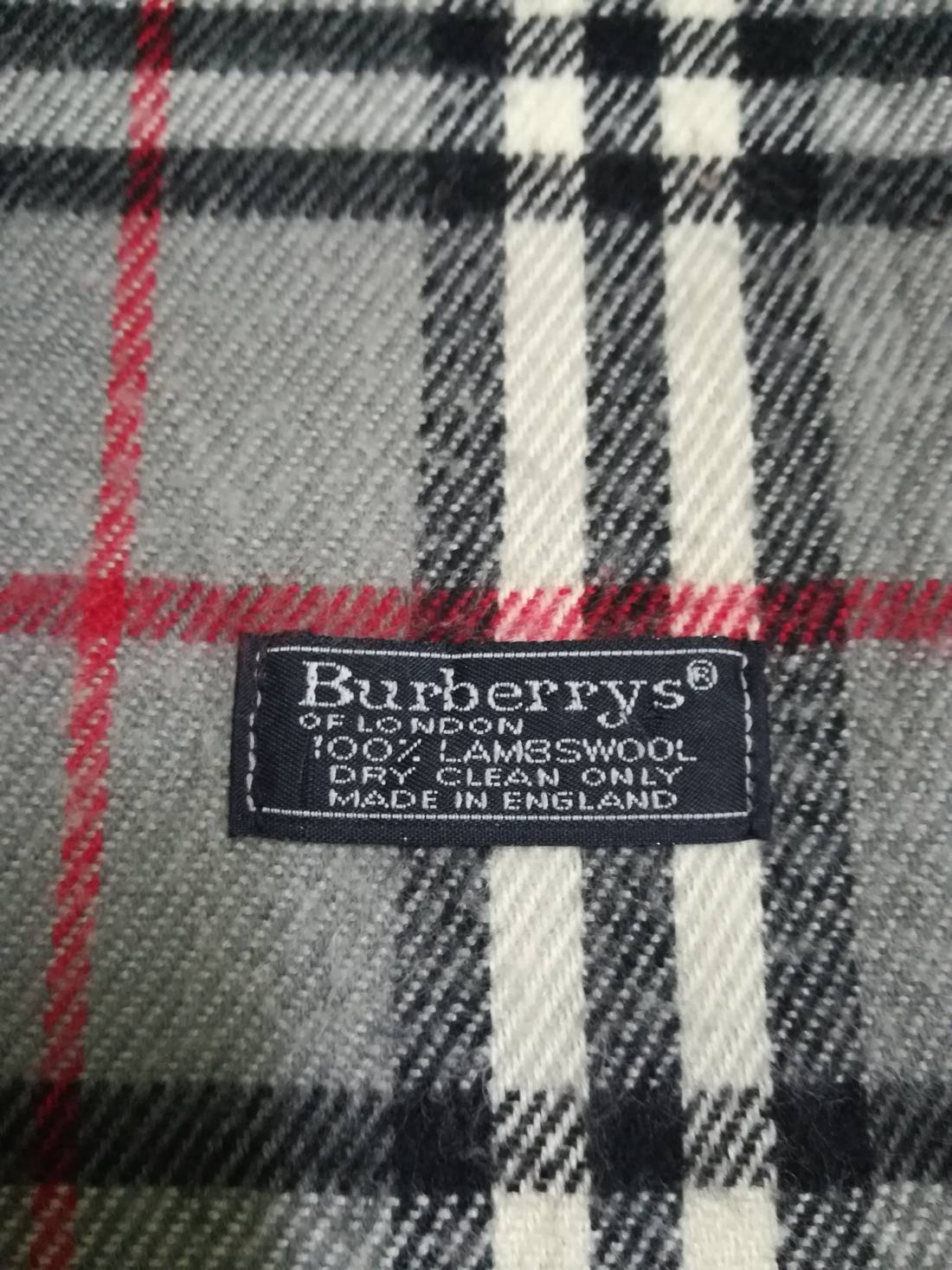 6b344ae71ebe ... order burberry authentic burberrys vintage burberry scarf nova check  pure lambswool 57 x 12 c2141 96bed