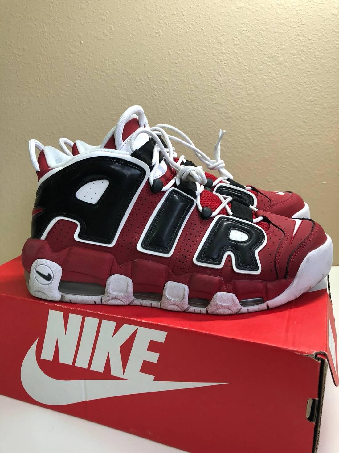 Nike Nike Uptempo Bulls Pack (Christmas) Size 8.5 - Hi-Top Sneakers ...