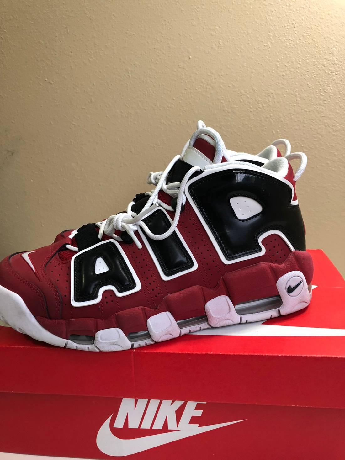 Nike Nike Uptempo Christmas Bulls Pack Size 8.5 - Hi-Top Sneakers ...
