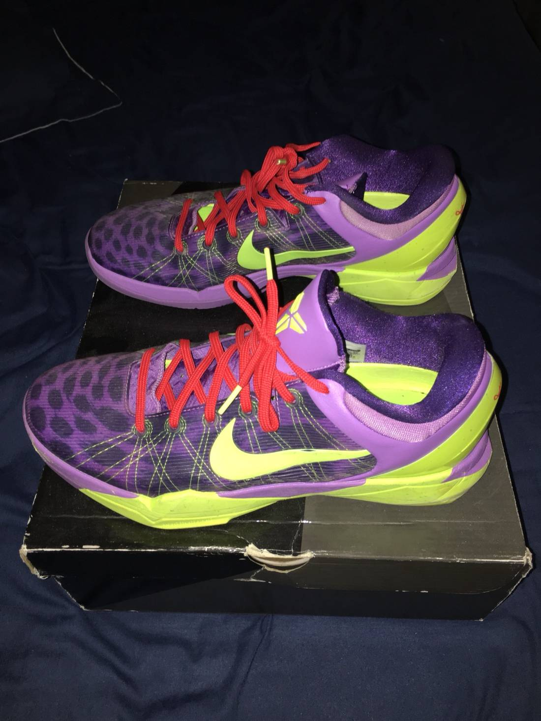 "Nike Kobe 7 ""Christmas"" Size 12 - Low-Top Sneakers for Sale - Grailed"