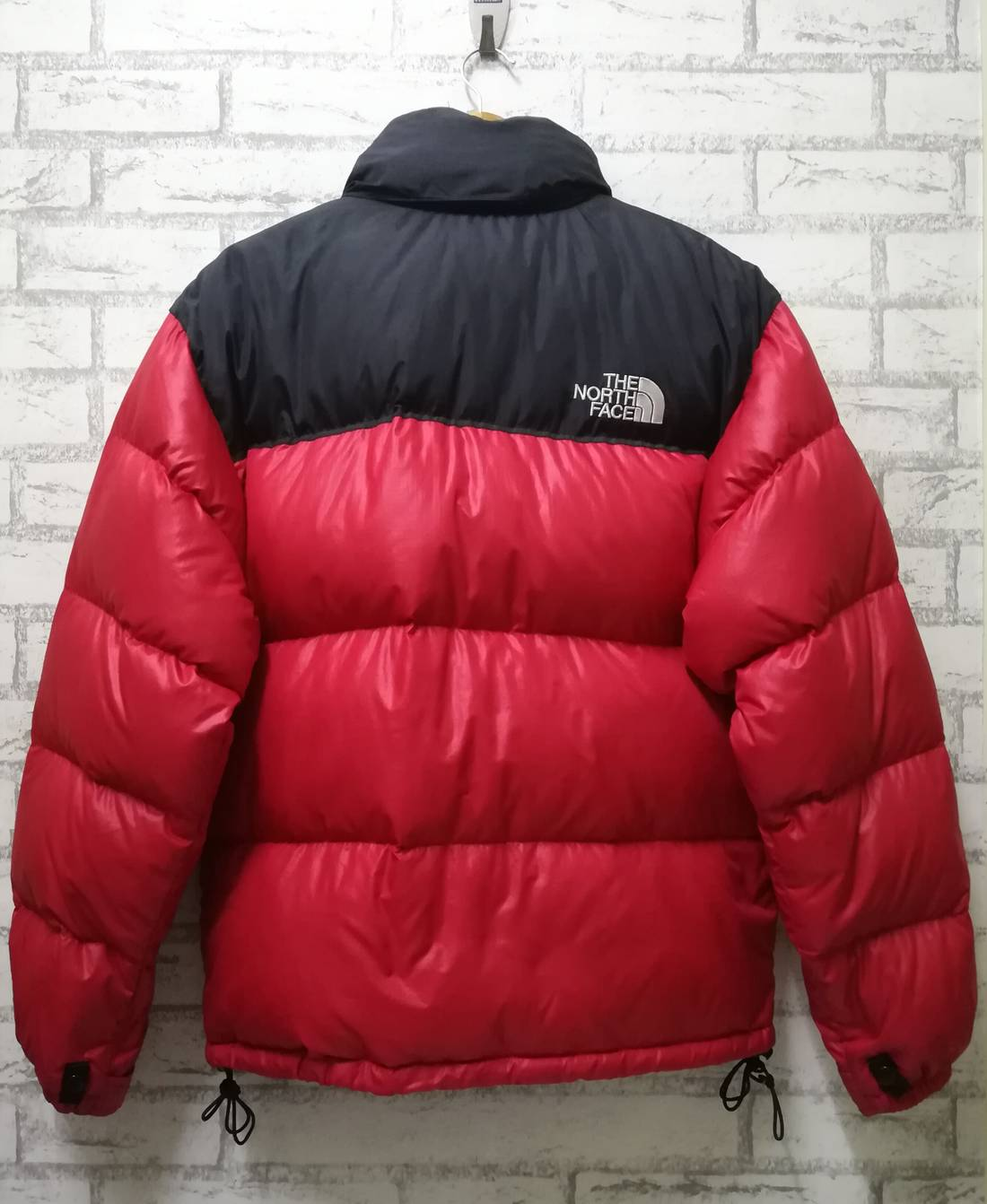 ... shopping the north face final drop the north face nuptse 700 goose down  puffer red 88f54 acef3fa44