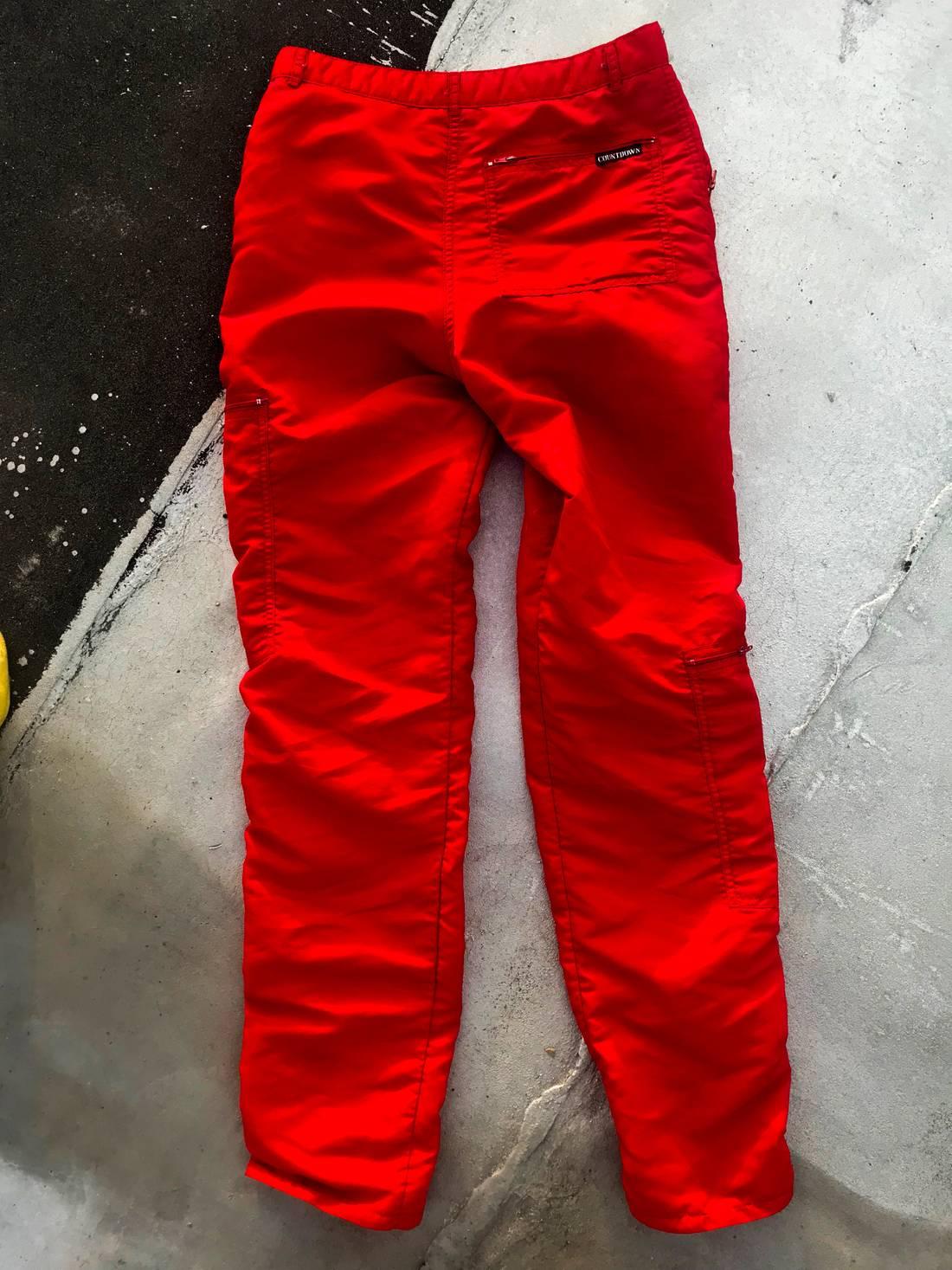 bugle boy 7 pocket crimson parachute pants size 32 casual pants