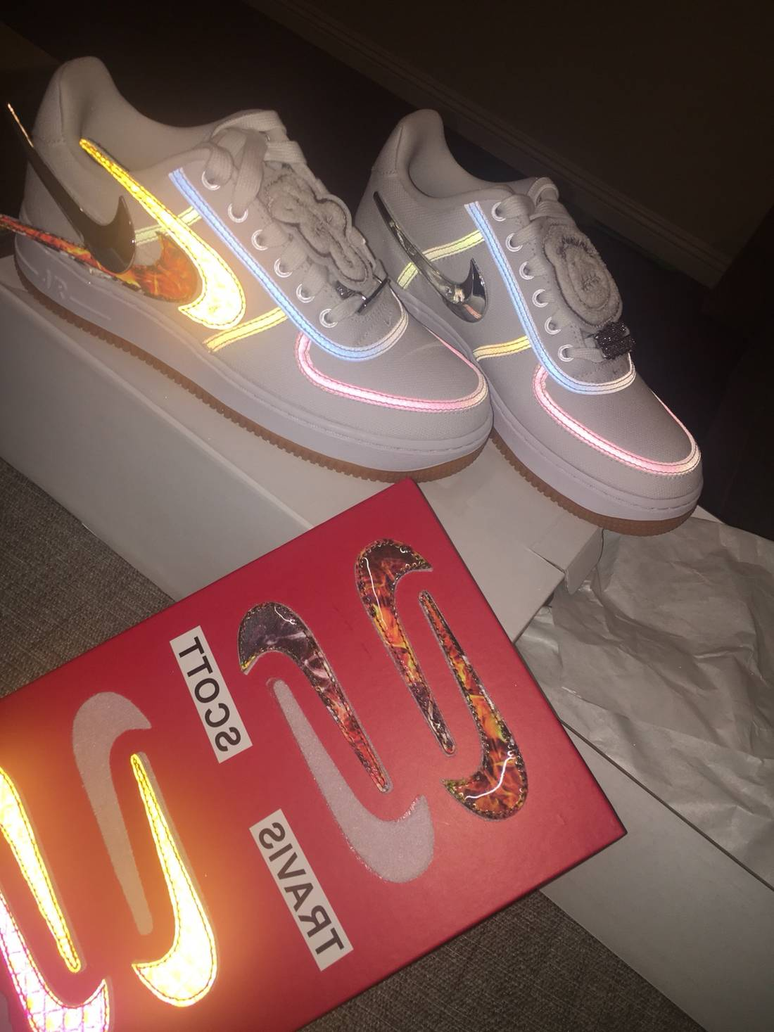 check out c2fd4 19004 Nike Air Force 1 Travis Scott Size US 6 EU 39 - 2 ...