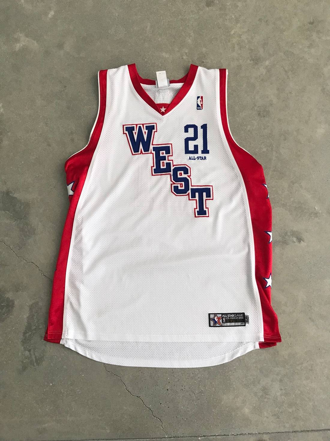 Nike Kevin Garnett All Star Jersey Timberwolves Size US L EU 52- ... 2a7264991