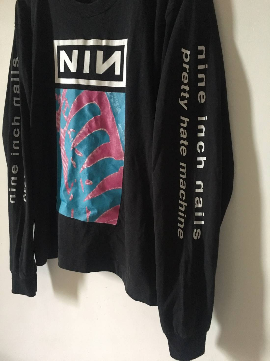 Vintage Nine Inch Nails Size m - Long Sleeve T-Shirts for Sale - Grailed