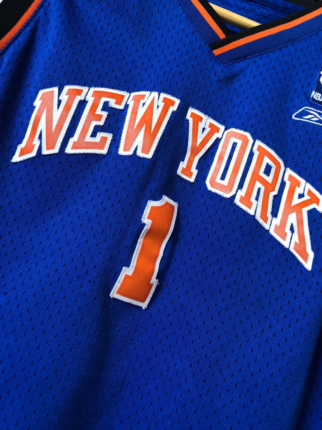 ... sweden vintage 2000s steve francis new york knicks jersey size us s eu  44 46 29370 ... 868fcd3b8