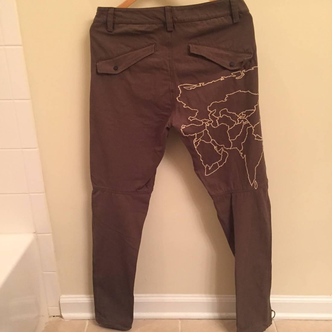 Maharishi world map embroidered pants size 30 casual pants for maharishi world map embroidered pants size us 30 eu 46 2 gumiabroncs Gallery