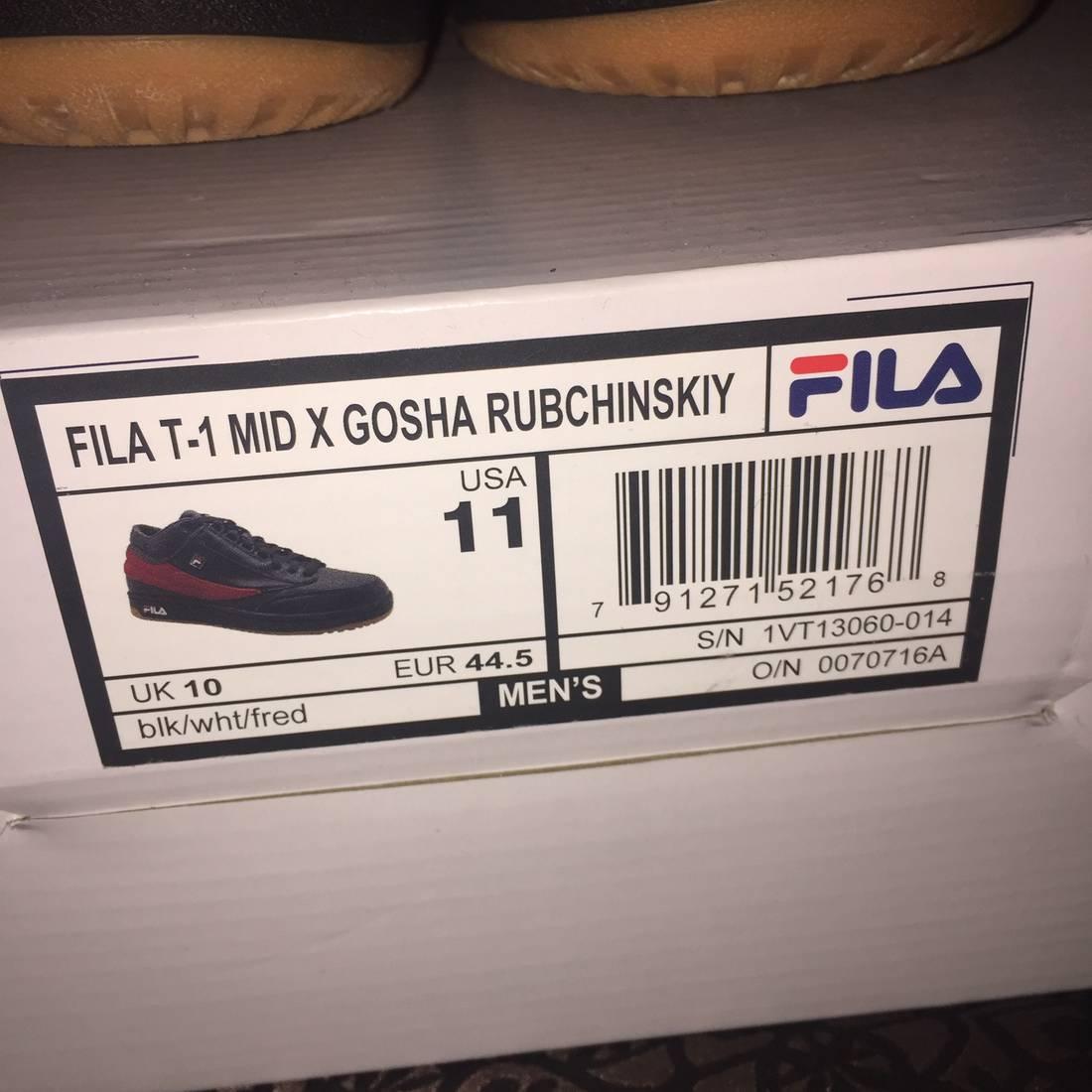 cozy fresh 36637 4cdc1 gosha rubchinskiy x fila t 1 mid sneakers 1vt13060  110 f46b6c73c0