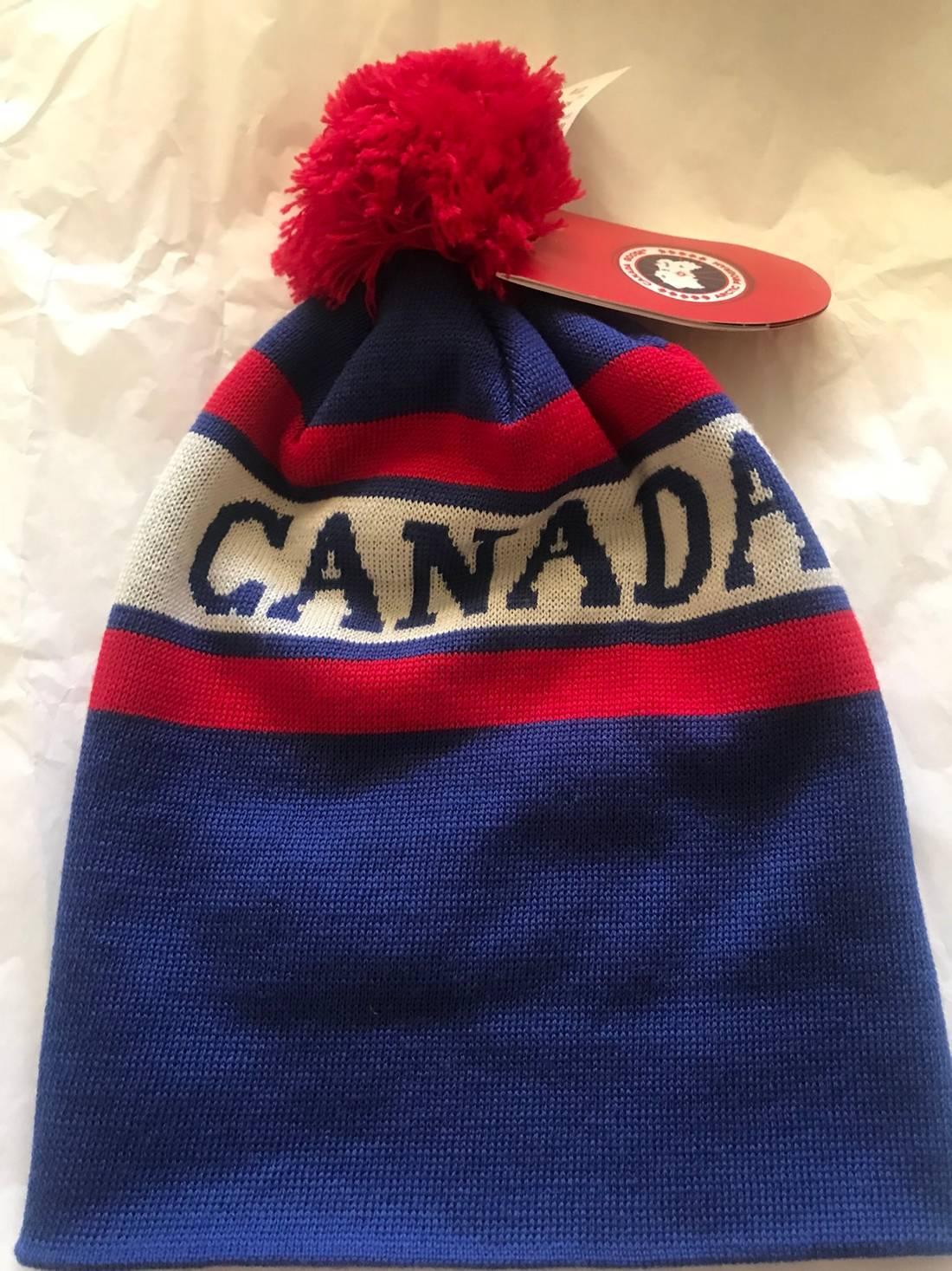 4978af82d6a Canada Goose Fur Pom Pom Hat