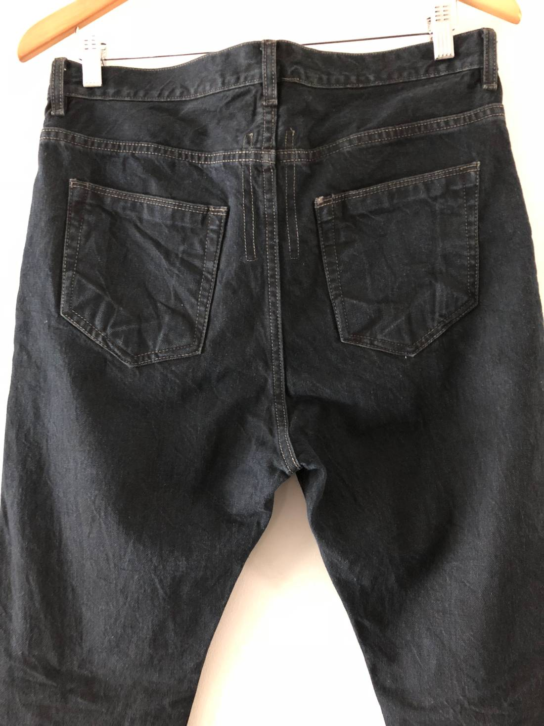 Rick Owens Drkshdw New With Tag Berlin Cut Blue Black Jeans Size 32 Us