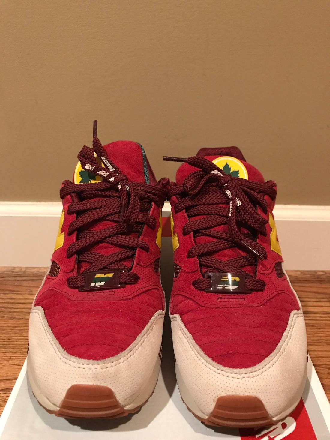 new balance kith x new balance 530 central park size 10 low top