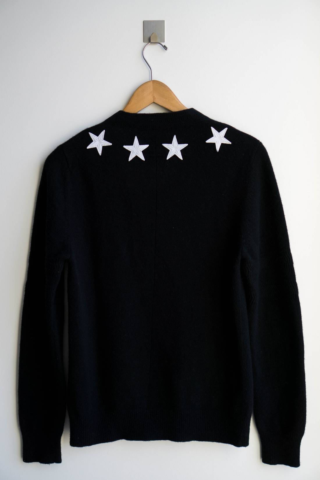 Black and White Stars Sweater Givenchy