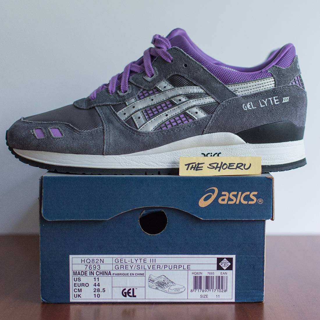 ASICS x solebox Gel Lyte III 'the sun' us11 eu44