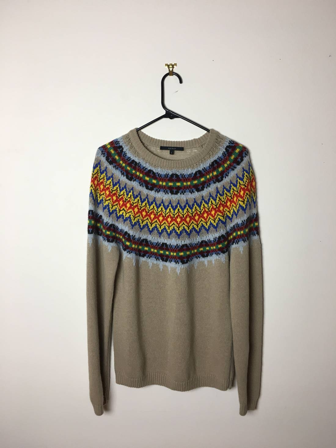 Gucci Fair Isle Sweater Size l - Sweaters & Knitwear for Sale ...