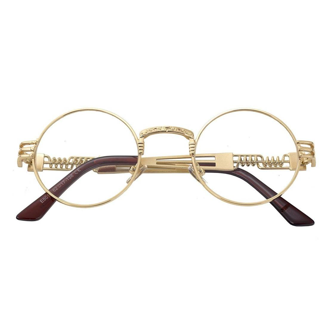Syndicate Cartier Style Vintage Gold Frame Glasses Size one size ...