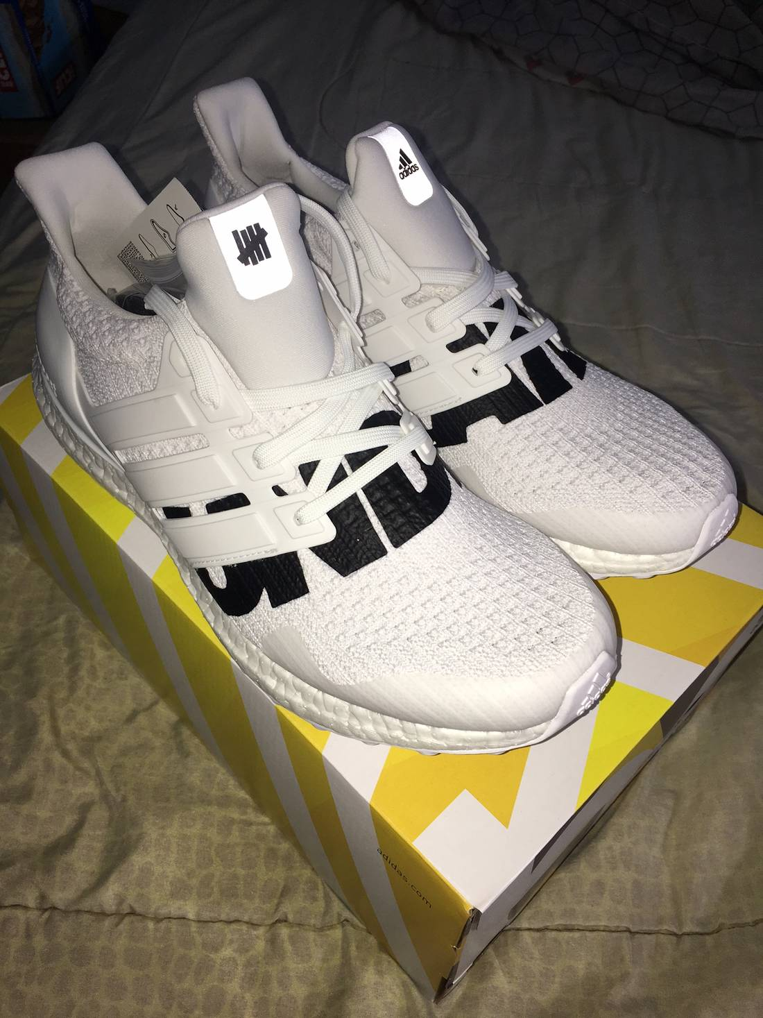 Brand New Adidas x Undefeated Ultra Boost Size 10.5 IN HAND