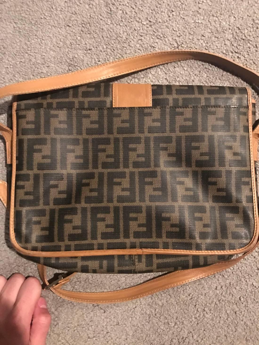 ireland fendi handbag vintage leather messenger 6c455 c76ec c643f1f344