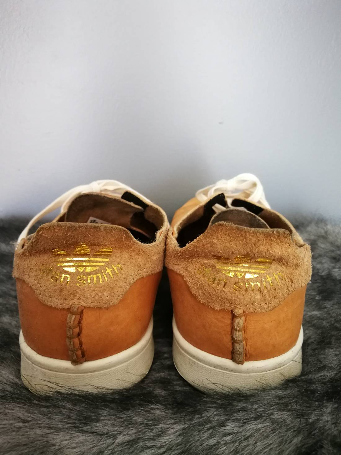 competitive price 3b63d cfe03 ... authentic adidas stan smith veg tan horween size us 10.5 eu 43 44 3  c9235 f169e
