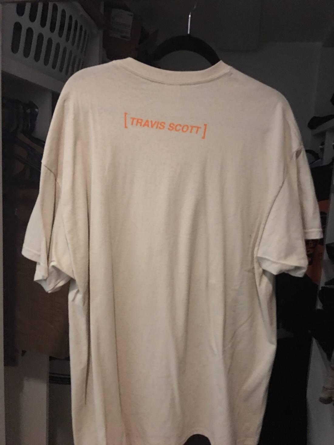 0615663b9081 Travis Scott Halloween Merch Tee Size Xl Short Sleeve T Shirts For