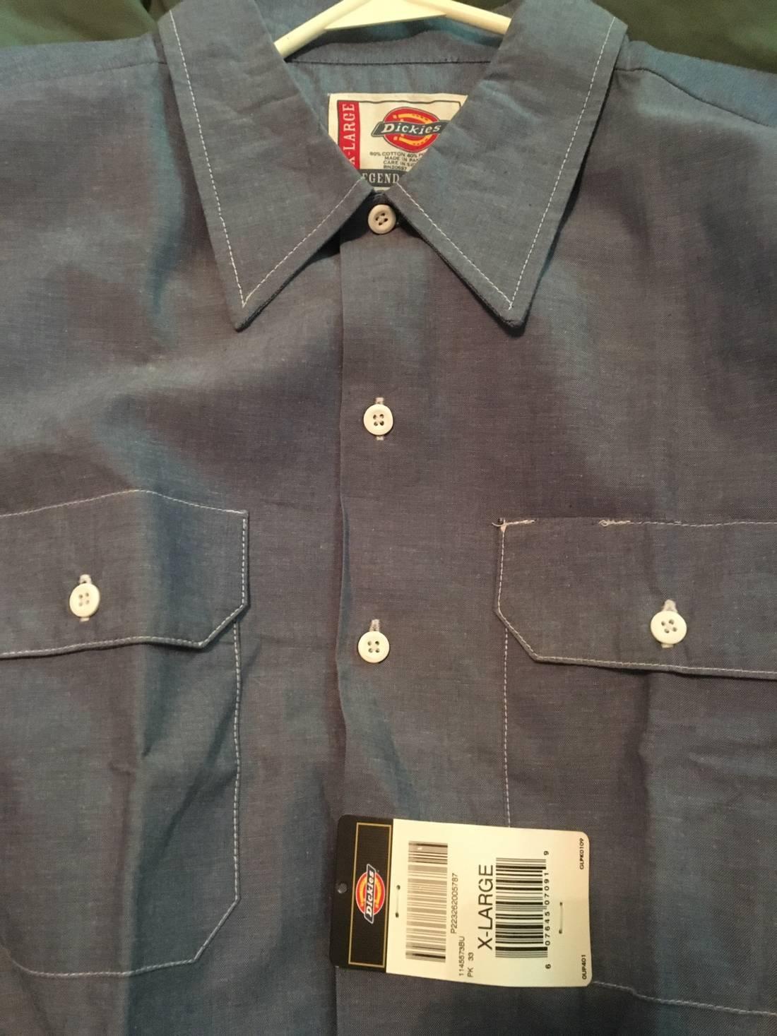 66ffad1463 Dickies Denim Work Shirts
