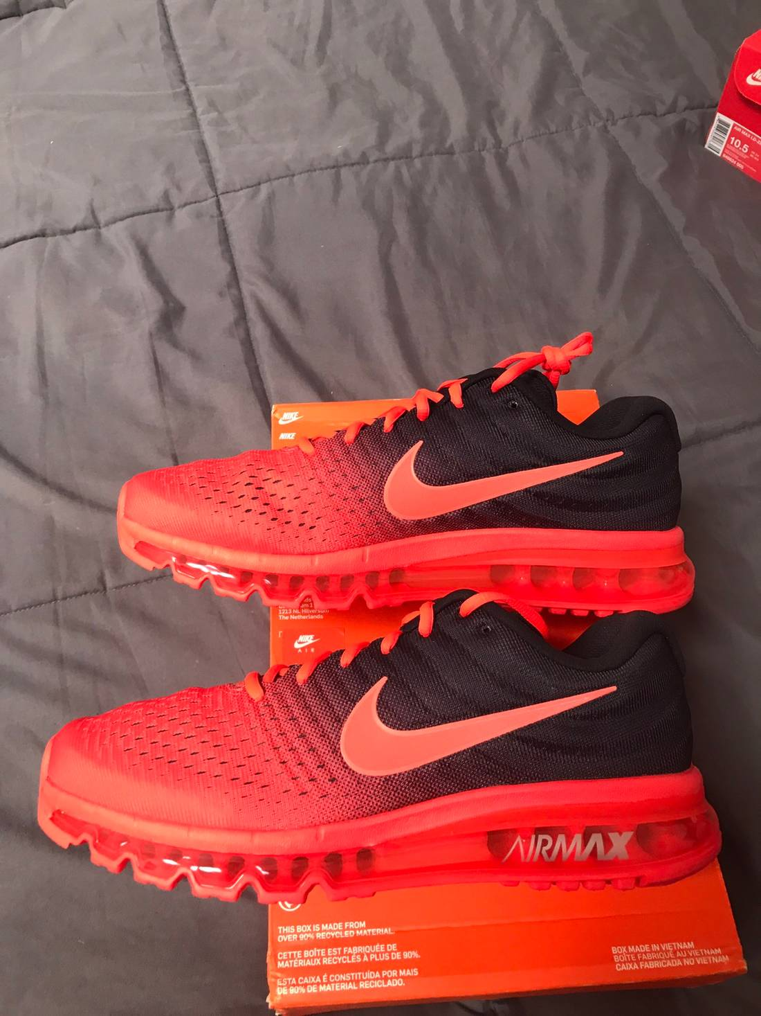 new style a3646 2ee6a closeout air max 2017 box 71b04 f9167