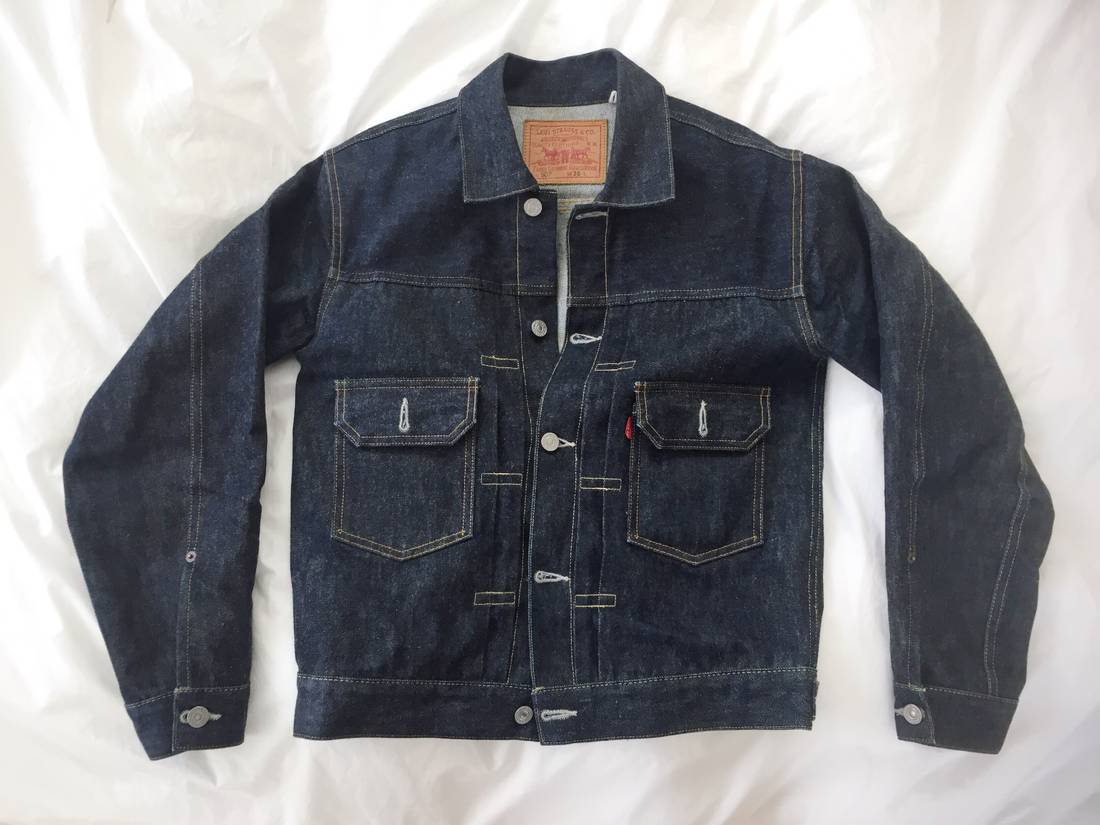 Levis Vintage Clothing Type II Selvedge Denim Jacket Size xs ...