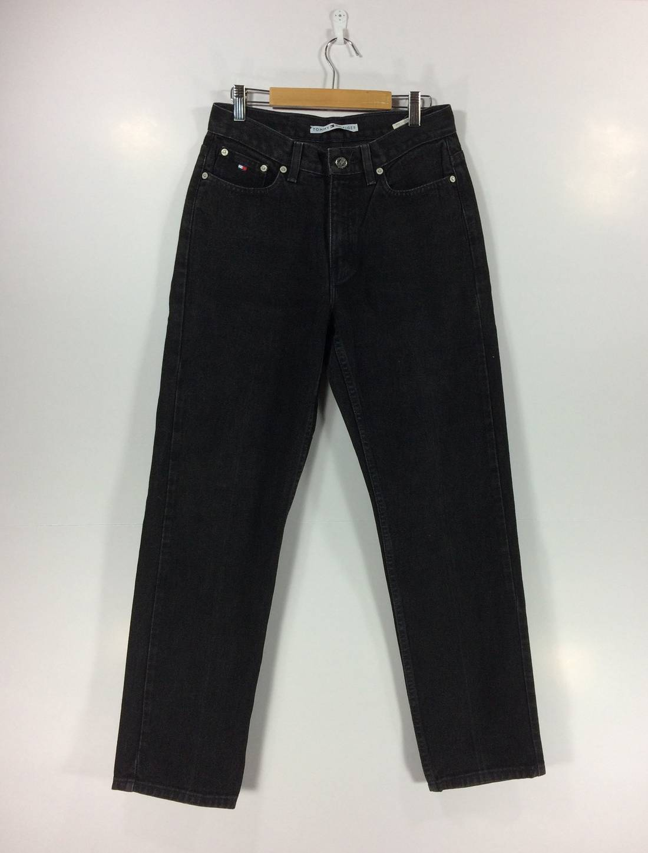 Vintage Tommy Hilfiger Jeans Swag 90s Hip Hop Style Big Size Streetwear Street Fashion Rare