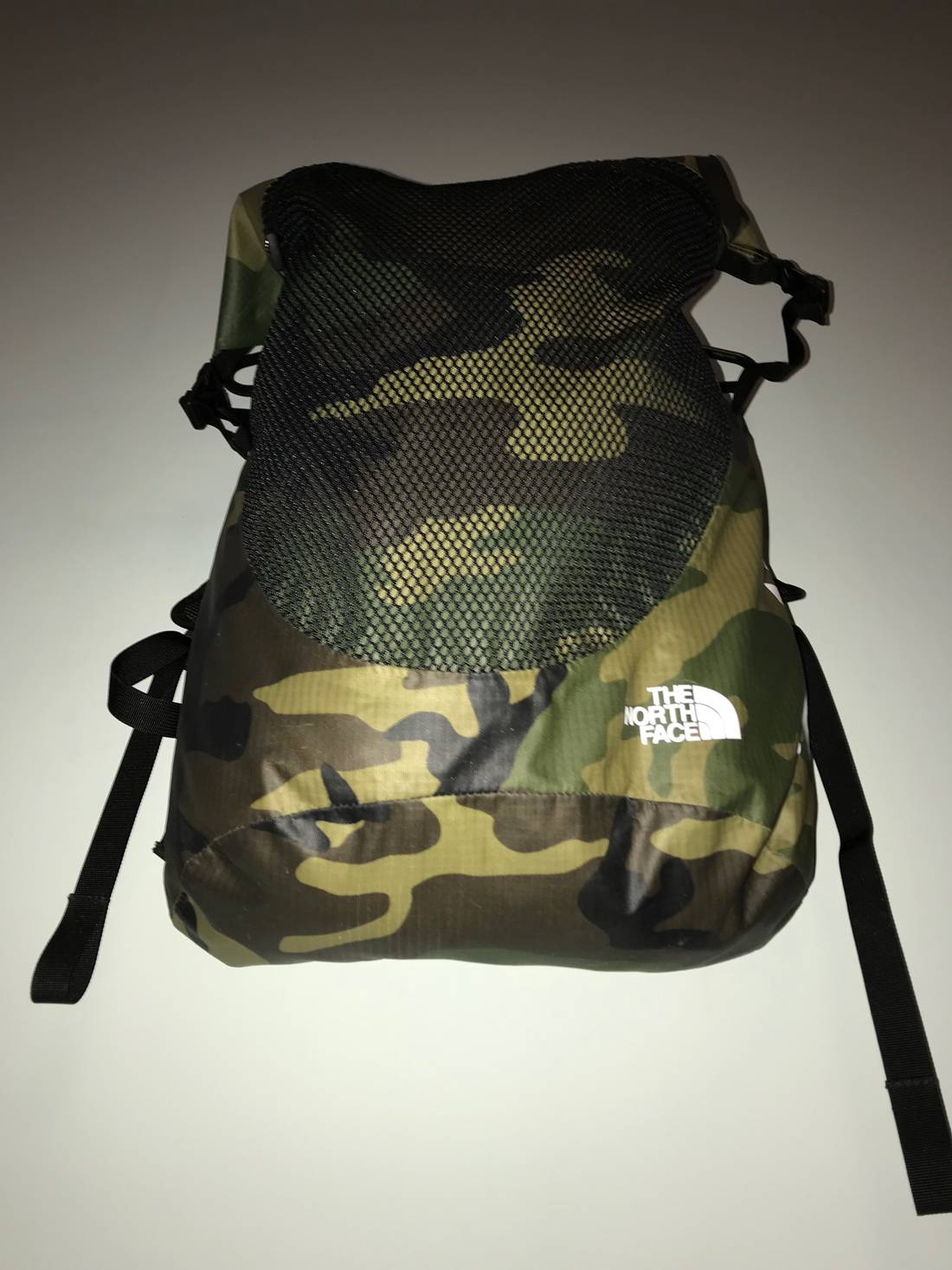 1f62ffcf Supreme X The North Face Waterproof Backpack Woodland Camo ...