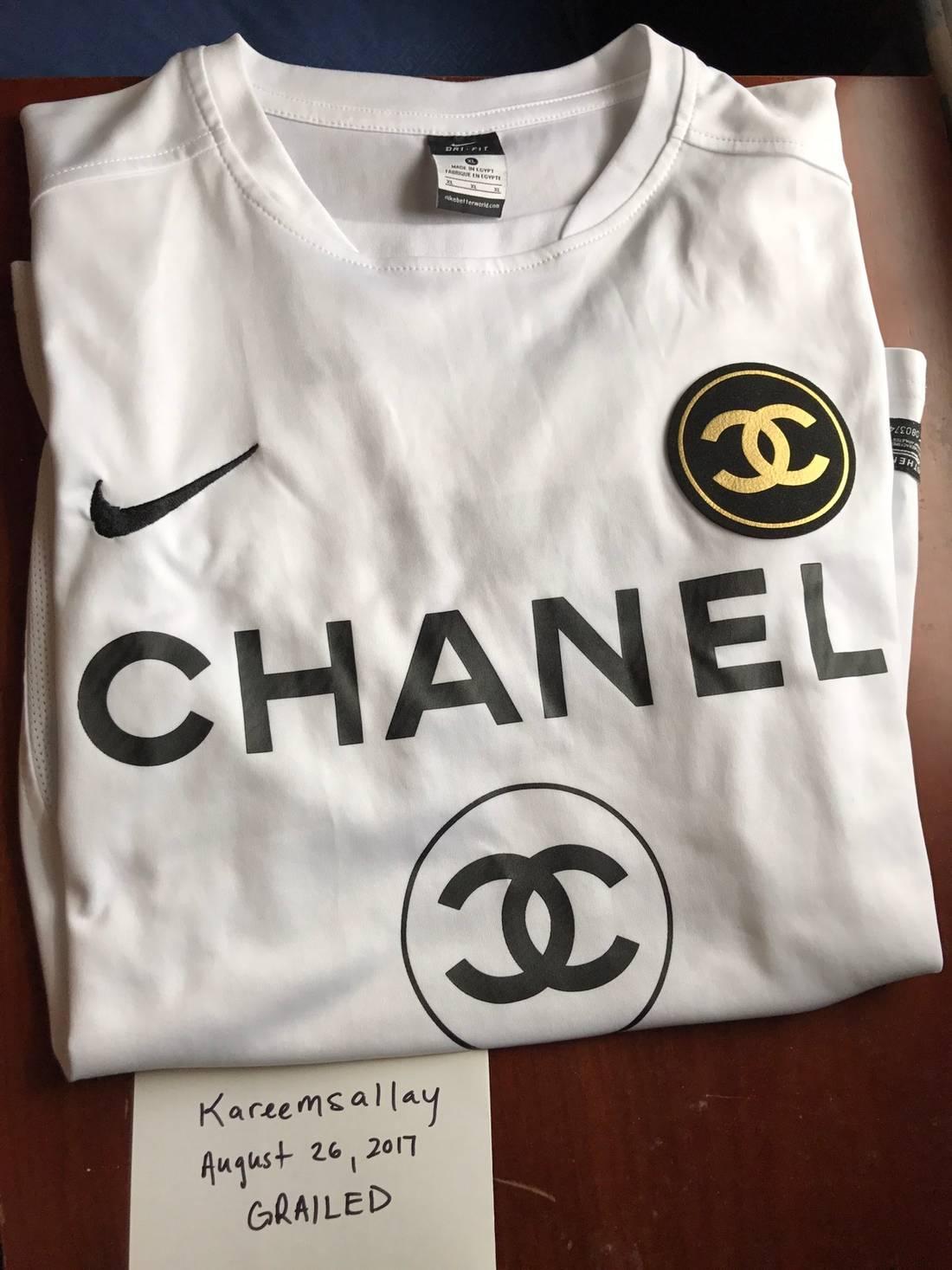 b04a0cc35 Chanel Soccer Jersey Nike