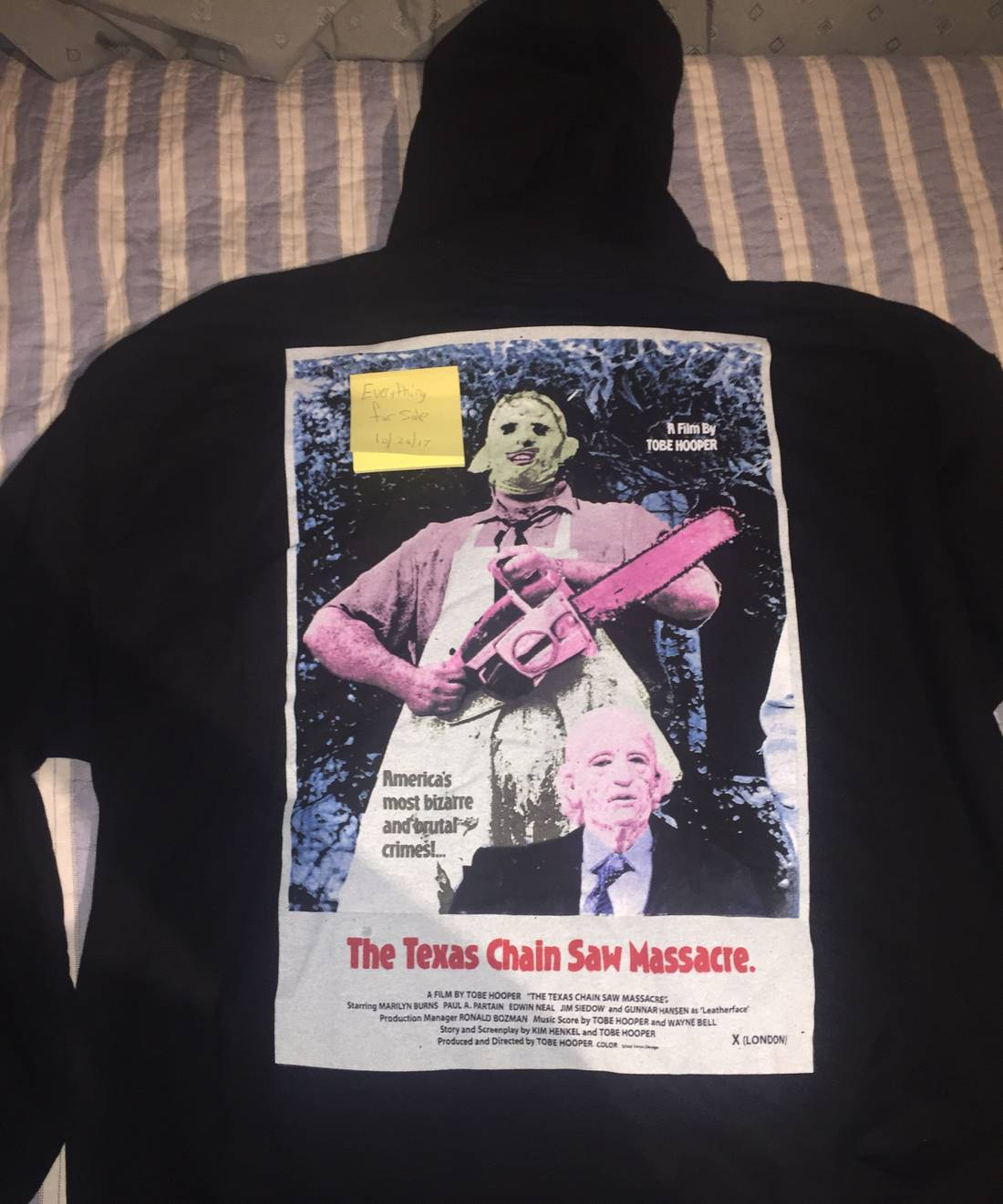 183c5a59f15e ... Us M Eu 48 50. Travis Scott Nyc Halloween Merch Size M Sweatshirts