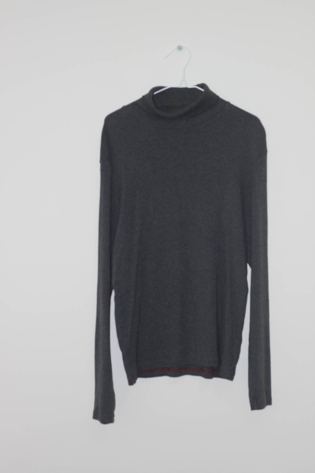 Gap Grey Turtleneck Sweater 100% Cotton Size m - Sweaters ...