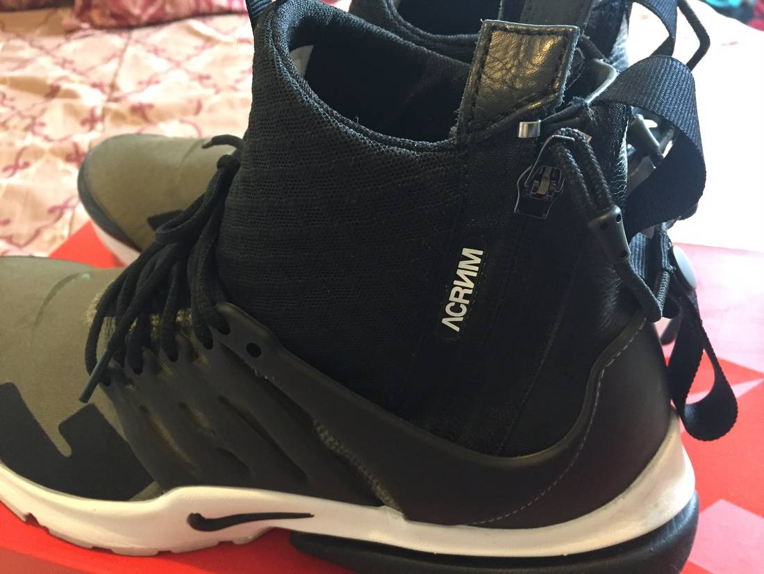 Nike Air Presto Mid/Acronym 'Acronym' - 844672-200 - Size L -