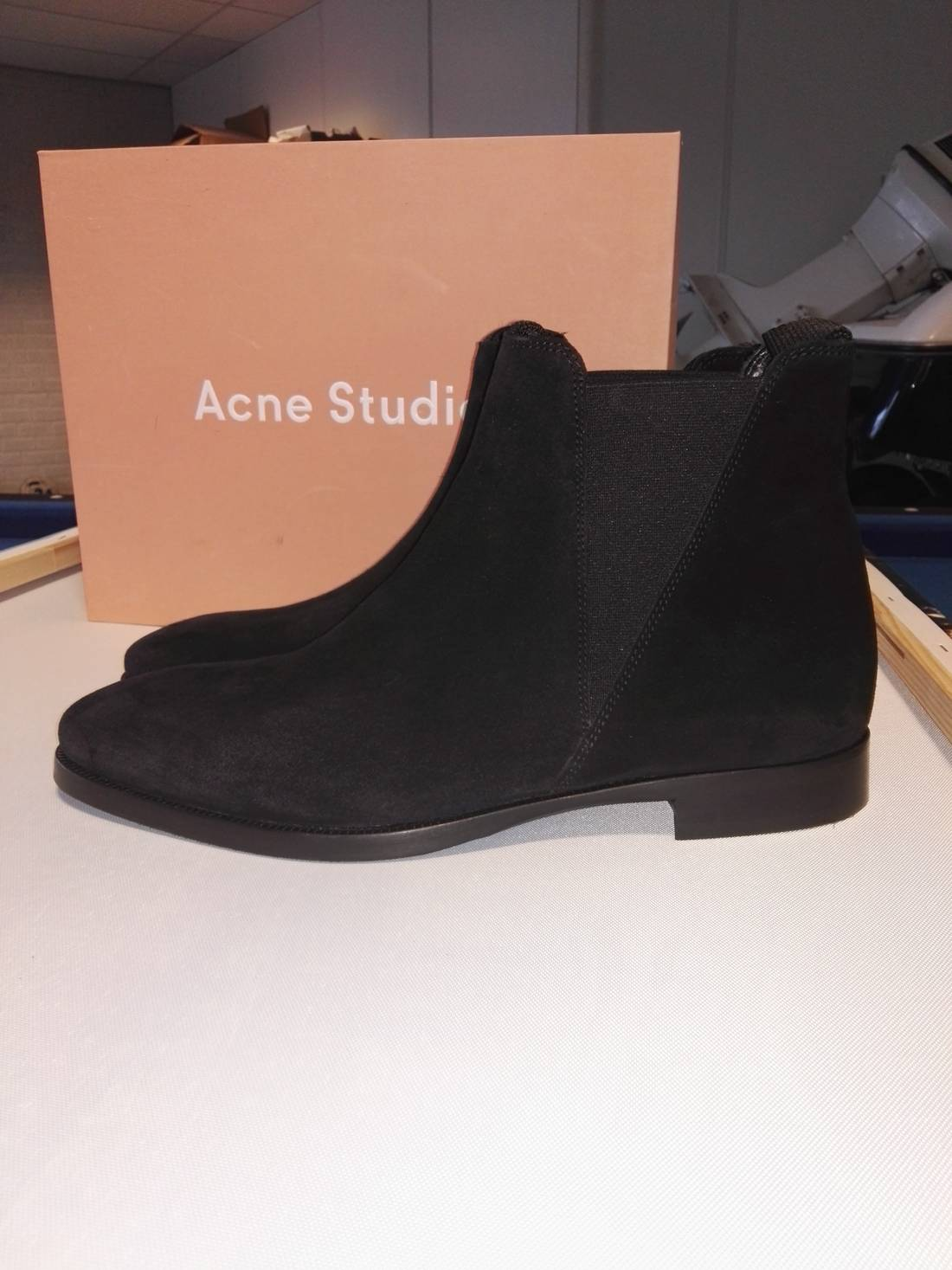 Acne Suede Zack Chelsea Boots