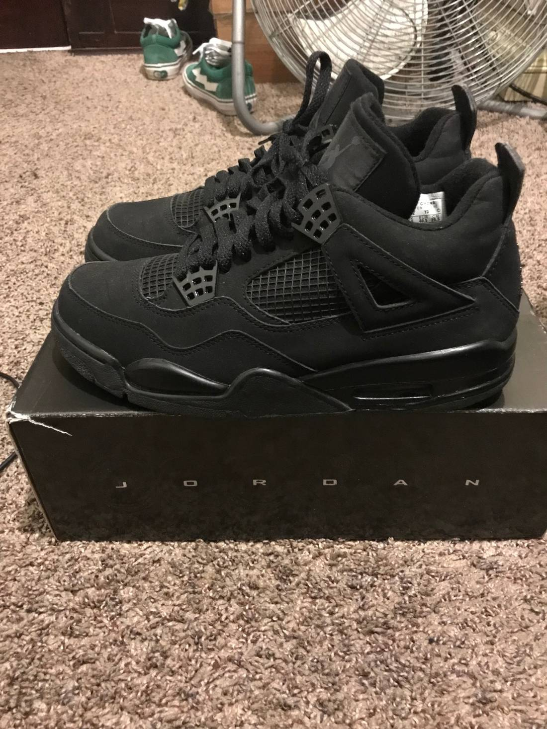 5f812e9e8cbe ... Sneaker Bar Detroit  Air Jordan 4 Black Cat Review On Foot You ...