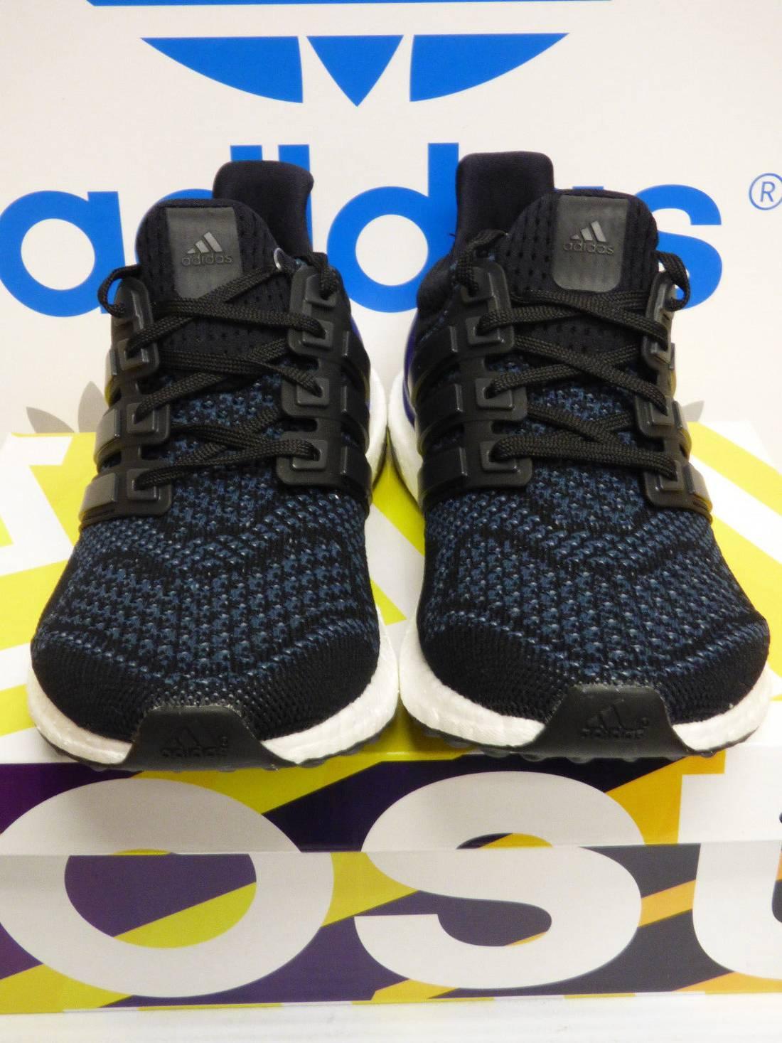 405efc23b6dca ... real adidas ultra boost 1.0 og core black purple b27171 size us 8.5 eu  19ca3 bdc88