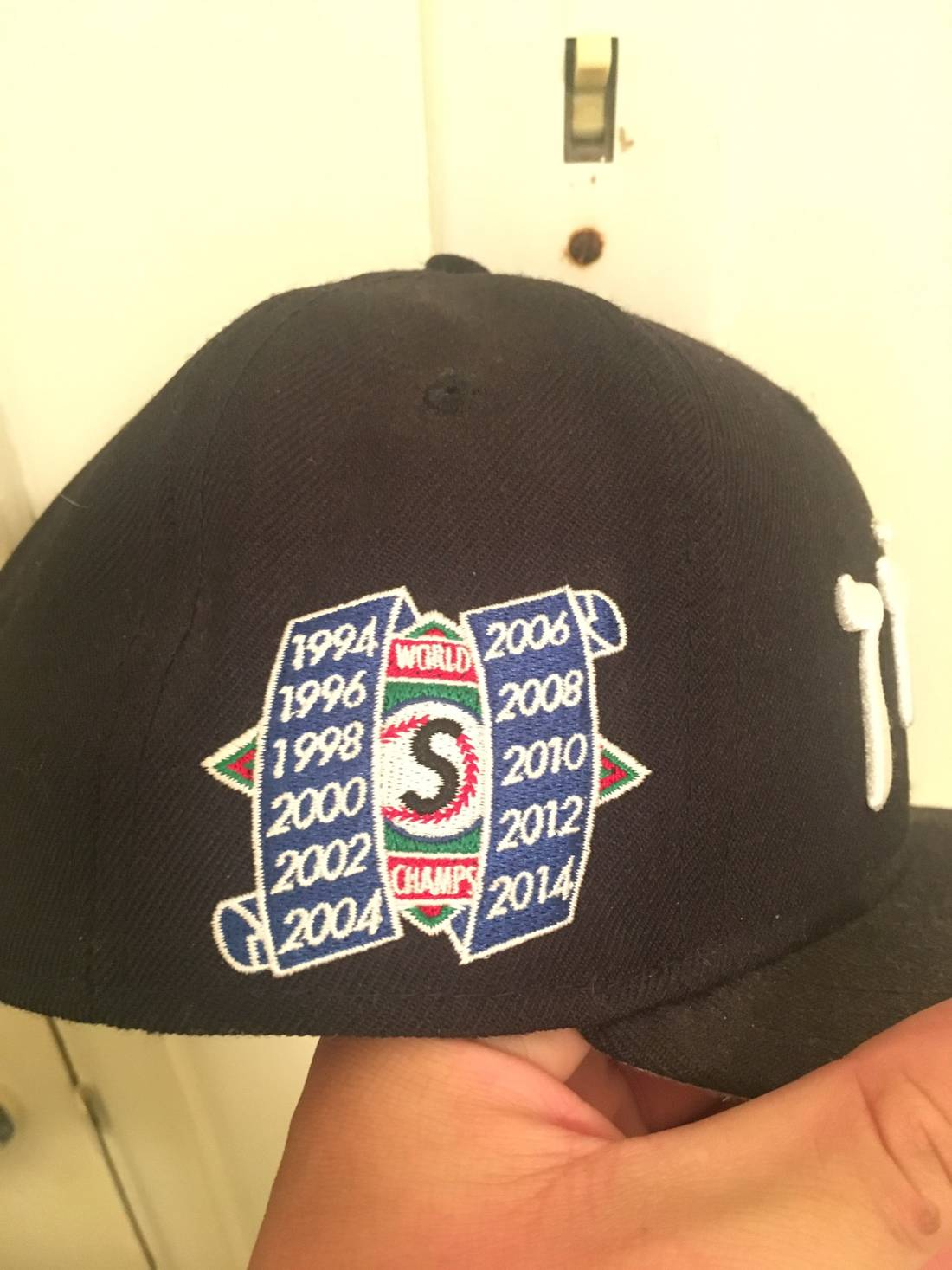 91da8b79938 ireland supreme hebrew fitted new era hat size one size 72659 87cf5  coupon  code for supreme supreme hebrew logo hat size one size 1 eec71 27cfc