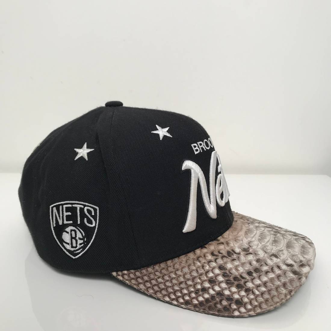 more photos bc6d9 4acdf sweden brooklyn nets hat snakeskin 17f54 a8b6c