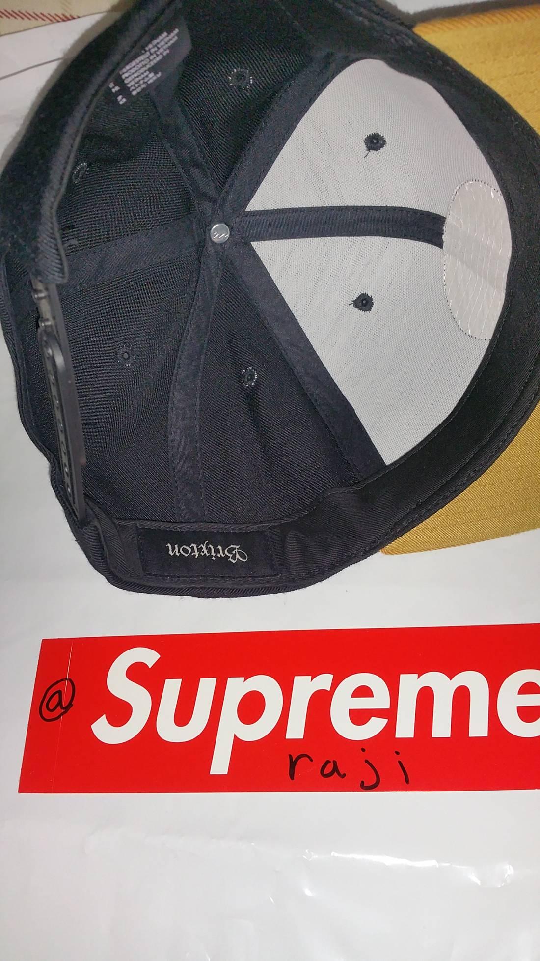reputable site 71b95 8d318 ... australia brixton brixton supply co snapback hat size one size 2 97f59  3c3c4