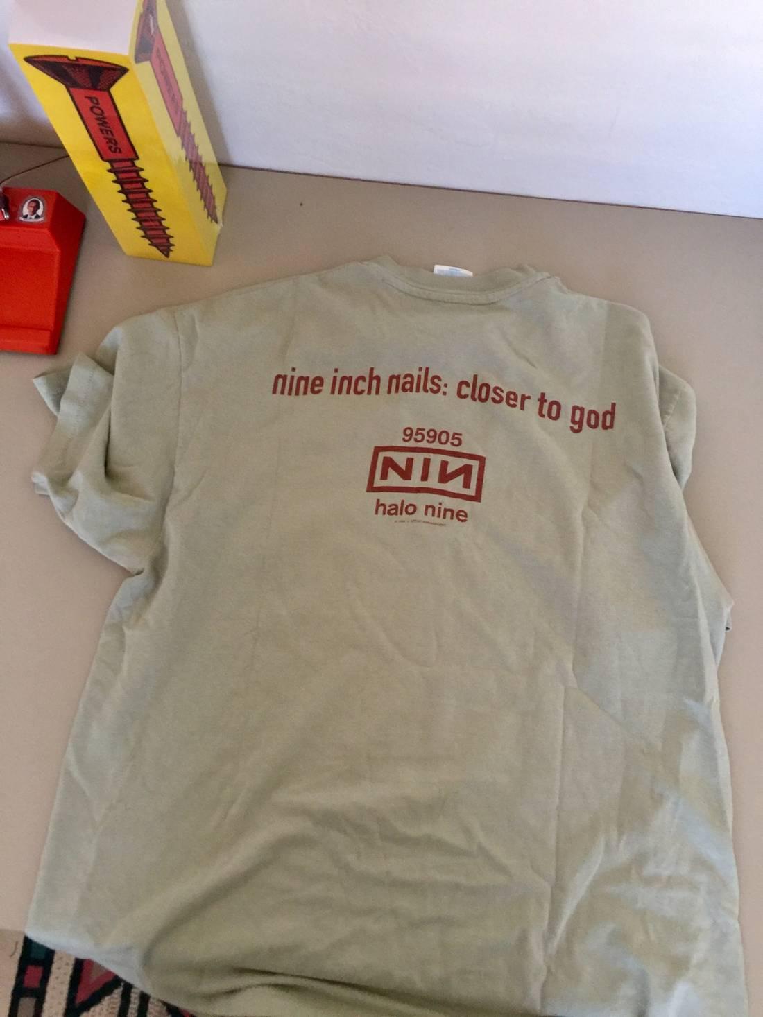 Enchanting Nine Inch Nails Closer Crest - Nail Art Ideas - morihati.com