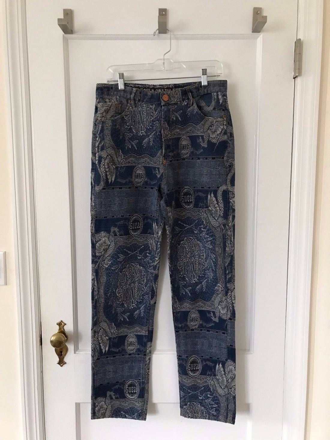 DENIM - Denim trousers Jean Paul Gaultier