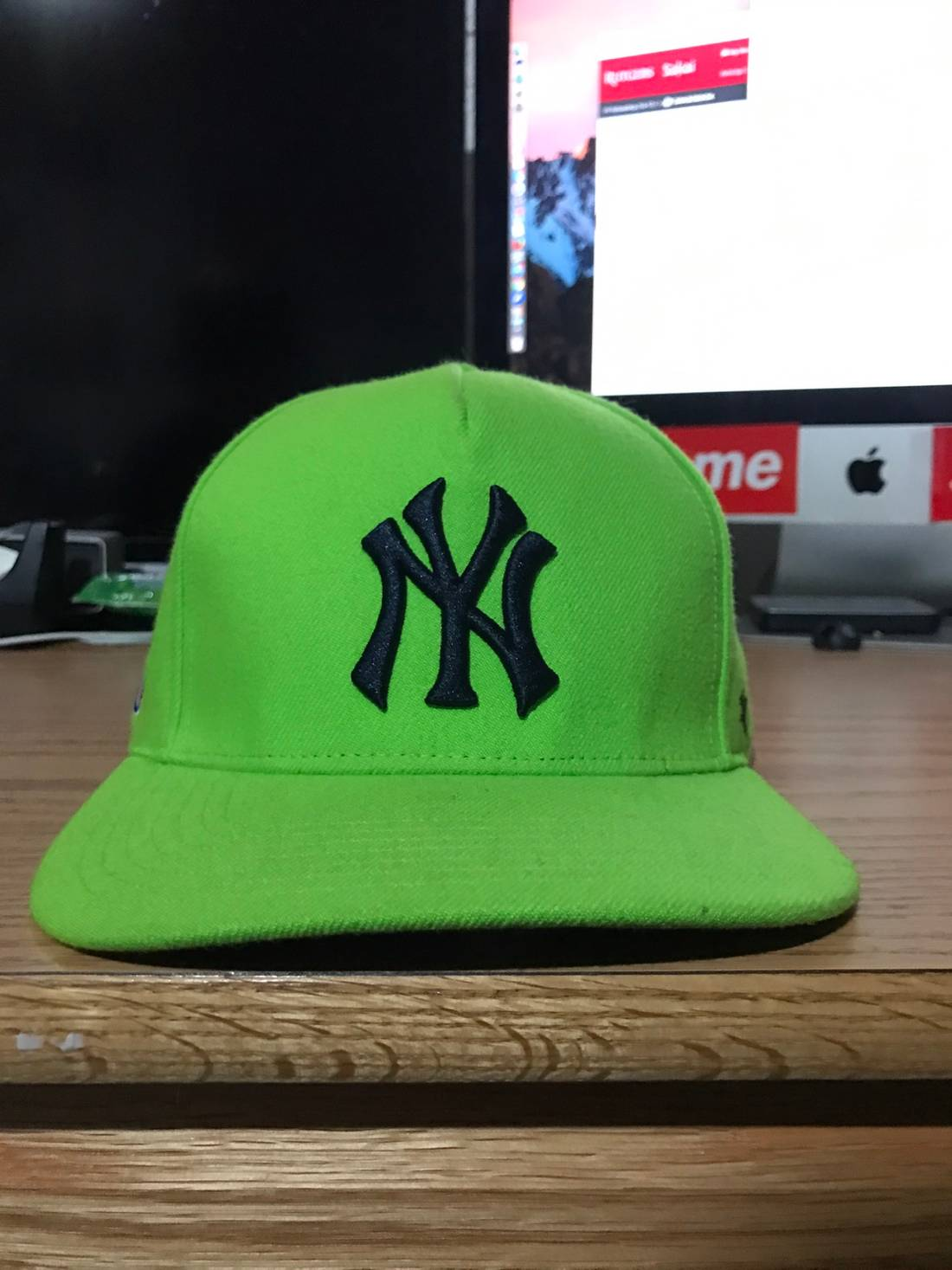 61dbba8c0ac ... where can i buy supreme supreme x new york yankees hat size one size  9f4d3 fb912
