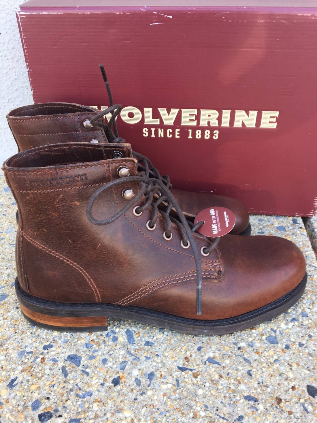 wolverine 250 kilometer boots new in box size 7 boots for sale