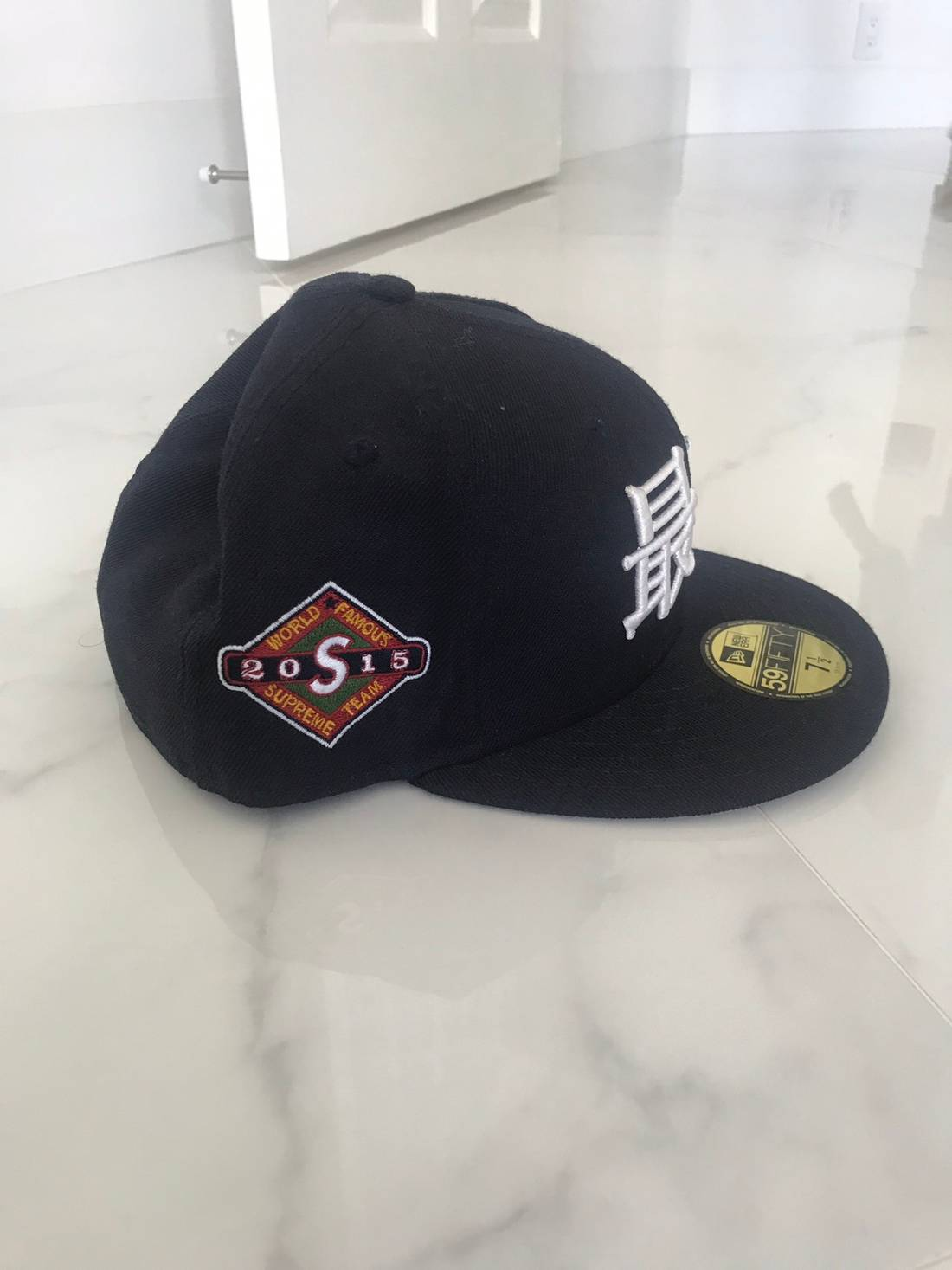 hot product f7a91 498a8 supreme supreme kanji fitted size one size ... 2c9525d7698