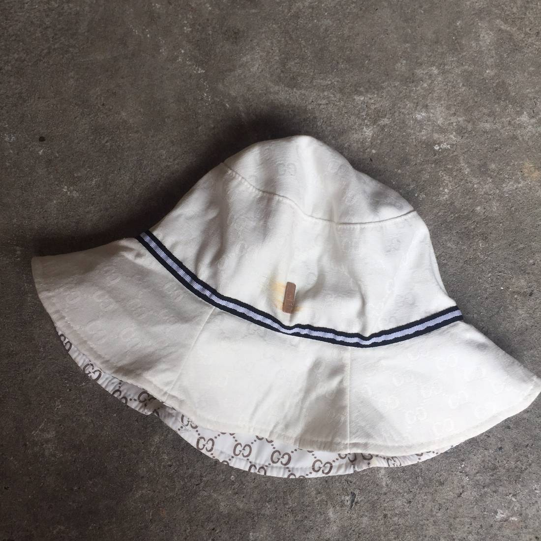 outlet store sale 5cb98 4dd5e gucci vintage gucci bucket hat ... b3bec62f158b